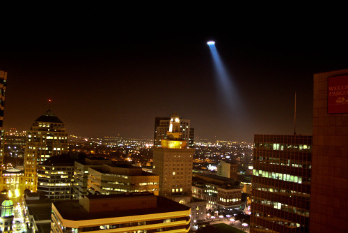 Helicopter over Oakland - Photo by Thomas Hawk